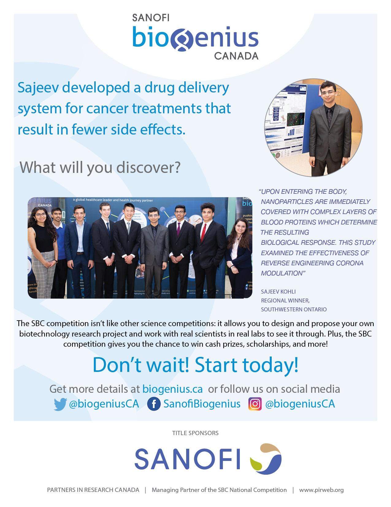 Sajeev's Poster