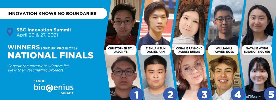 National Finals - Group Winners